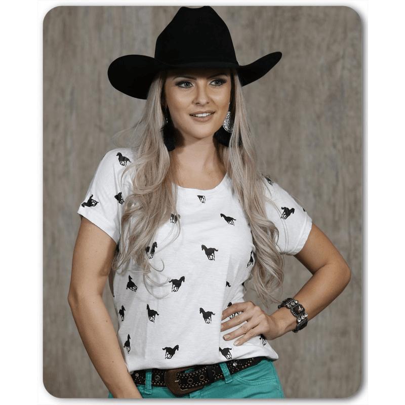 Camiseta Radade Horse Branca