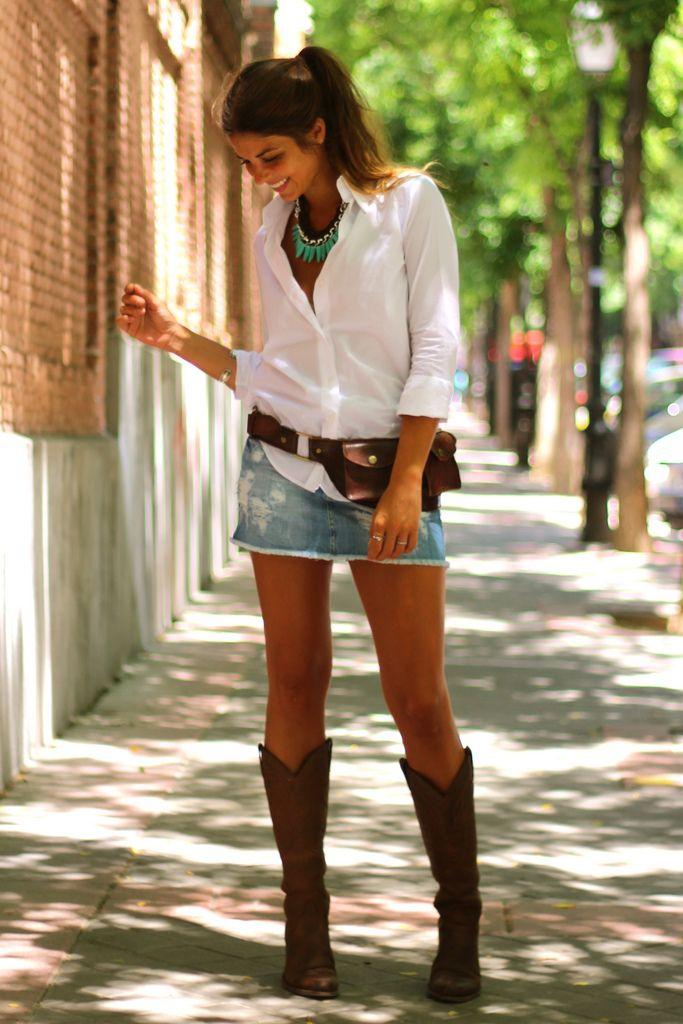 Como usar bota country  10 ideias para o verão - Jeito de Cowboy 9574d229fdc