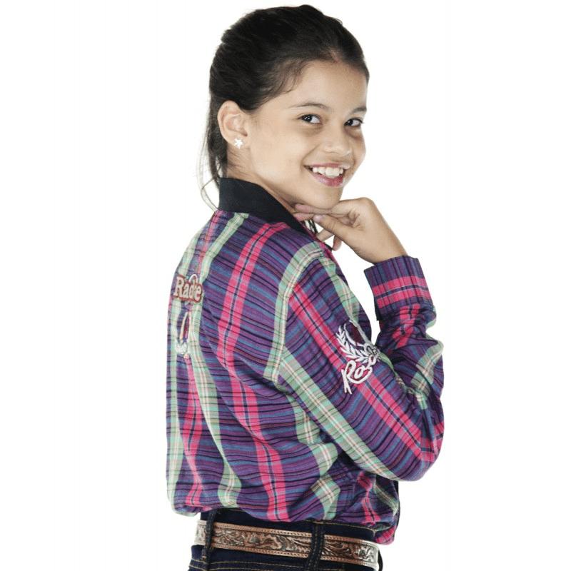 Camisa Radade Infantil Xadrez