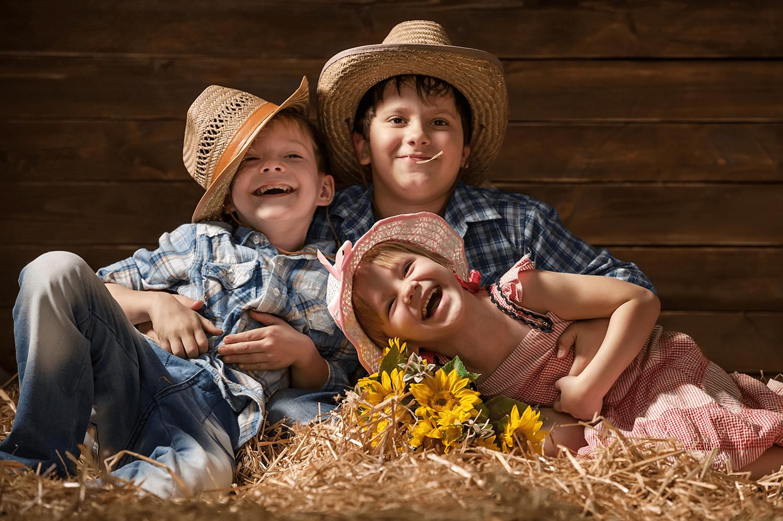 estilo country para as crianças