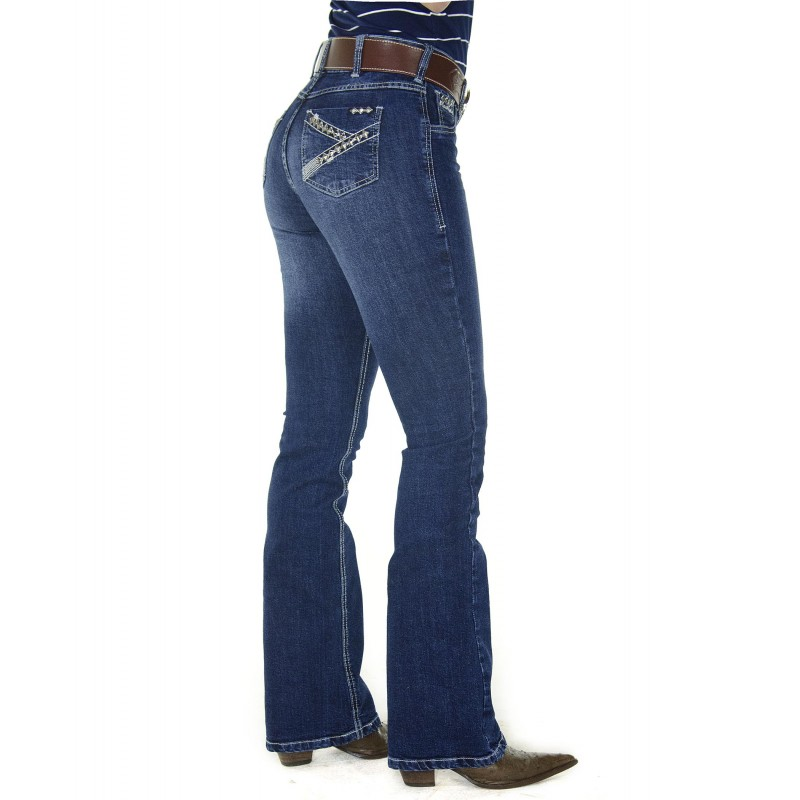 Calça jeans radade tacks boot cut