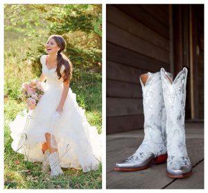 Bota branca - Vai casar? Veja as botas que combinam com você