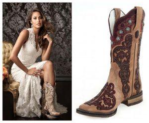 Bota Texana - Vai casar? Veja as botas que combinam com você