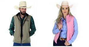 Colete - Como se vestir no inverno sem perder o estilo country - Coletes