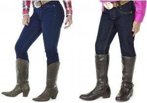 Calça jeans - Mãe e filha - compras para combinar o look country