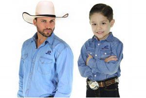 Camisa Jeans - Pai e Filho - compras para combinar o look country