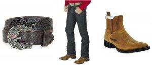 Cinto, calça e bota - Como se vestir em uma Festa do Peão