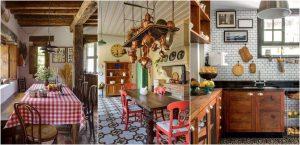 Cozinha decoração country