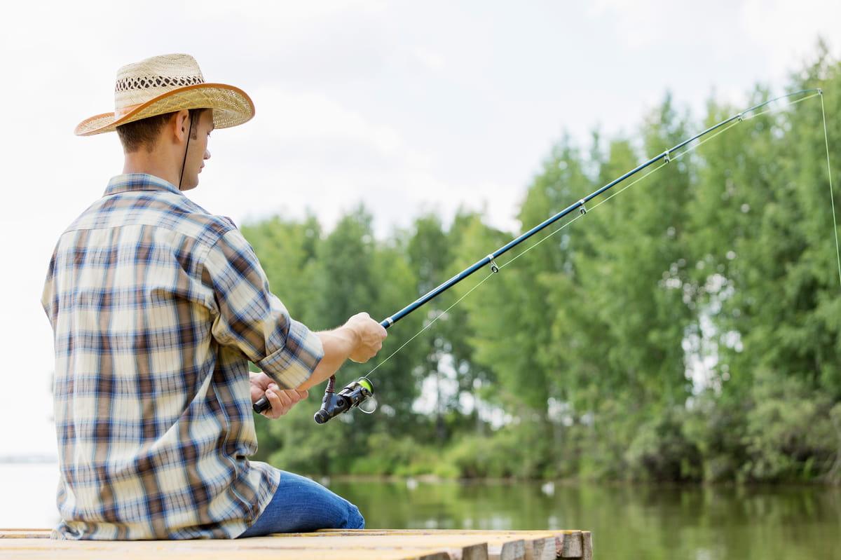Itens de pescaria