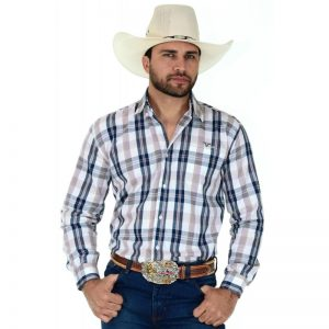Camisa xadrez country