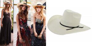 Chapéu e vestido