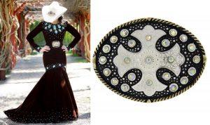 Fivela e vestido